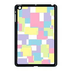 Mod Pastel Geometric Apple Ipad Mini Case (black) by StuffOrSomething