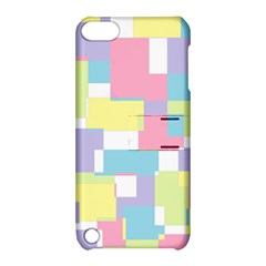 Mod Pastel Geometric Apple Ipod Touch 5 Hardshell Case With Stand by StuffOrSomething