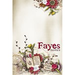 Fayes Notes - 5.5  x 8.5  Notebook