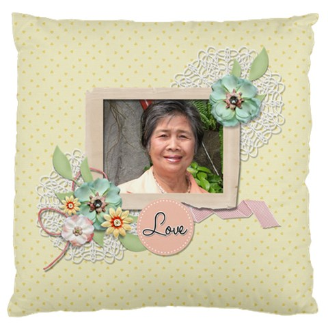 Large Cushion Case (one Side)   Mother By Jennyl   Large Cushion Case (one Side)   Ifujlv7ly4y0   Www Artscow Com Front