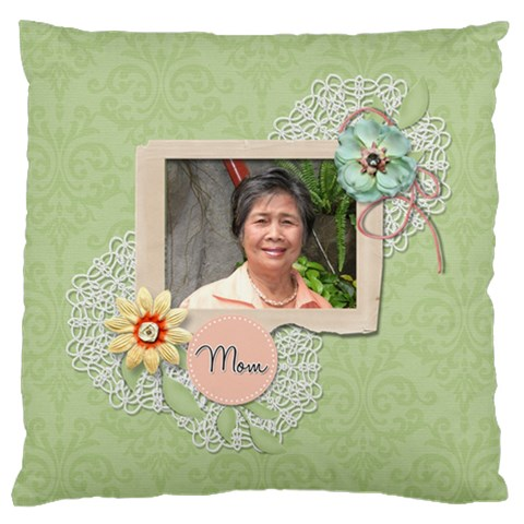 Large Cushion Case (one Side)   Mother By Jennyl   Large Cushion Case (one Side)   Qadhs4u06cdb   Www Artscow Com Front