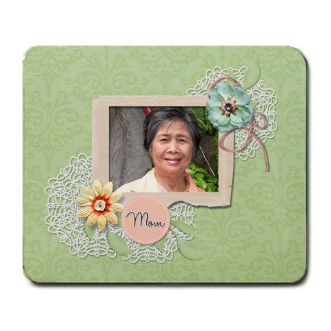 Mousepad: Mom By Jennyl   Large Mousepad   9nf8chi988nv   Www Artscow Com Front