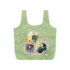 Recycle Bag (s): Sweet Memories 5 By Jennyl   Full Print Recycle Bag (s)   Ev0l40vrgsnq   Www Artscow Com Front