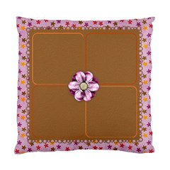 Blooming Cushion By Shelly   Standard Cushion Case (two Sides)   93g1tdqsmsq9   Www Artscow Com Back