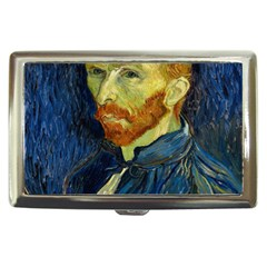 Vincent Van Gogh Self Portrait With Palette Cigarette Money Case by MasterpiecesOfArt