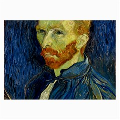 Vincent Van Gogh Self Portrait With Palette Glasses Cloth (large, Two Sided) by MasterpiecesOfArt