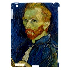 Vincent Van Gogh Self Portrait With Palette Apple Ipad 3/4 Hardshell Case (compatible With Smart Cover) by MasterpiecesOfArt