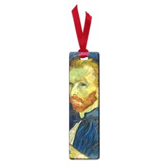 Vincent Van Gogh Self Portrait With Palette Small Bookmark by MasterpiecesOfArt