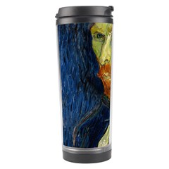 Vincent Van Gogh Self Portrait With Palette Travel Tumbler by MasterpiecesOfArt