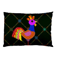 Rooster Pillow Case