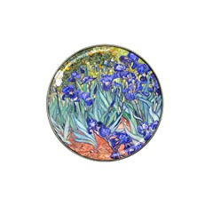 Vincent Van Gogh Irises Golf Ball Marker 10 Pack (for Hat Clip) by MasterpiecesOfArt