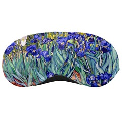 Vincent Van Gogh Irises Sleeping Mask by MasterpiecesOfArt