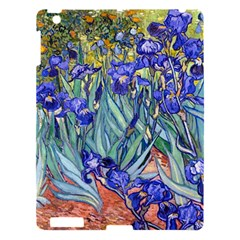 Vincent Van Gogh Irises Apple Ipad 3/4 Hardshell Case by MasterpiecesOfArt