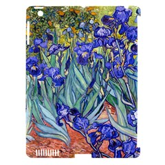 Vincent Van Gogh Irises Apple Ipad 3/4 Hardshell Case (compatible With Smart Cover) by MasterpiecesOfArt