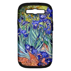 Vincent Van Gogh Irises Samsung Galaxy S Iii Hardshell Case (pc+silicone) by MasterpiecesOfArt