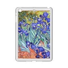 Vincent Van Gogh Irises Apple Ipad Mini 2 Case (white) by MasterpiecesOfArt