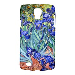 Vincent Van Gogh Irises Samsung Galaxy S4 Active (i9295) Hardshell Case by MasterpiecesOfArt