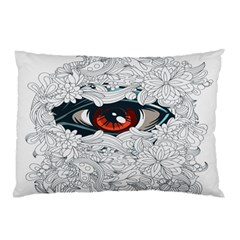 Flowers Pillow Case (two Sides)