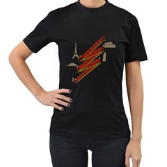 Flash Photography Women s T Shirt (black) by Contest1732250