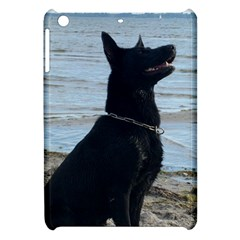 Black German Shepherd Apple Ipad Mini Hardshell Case