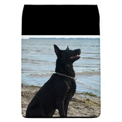 Black German Shepherd Removable Flap Cover (large) by StuffOrSomething