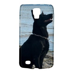 Black German Shepherd Samsung Galaxy S4 Active (i9295) Hardshell Case by StuffOrSomething