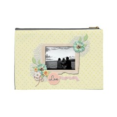 Cosmetic Bag (large)   Sweet Memories By Jennyl   Cosmetic Bag (large)   6k4g7bsh2ke8   Www Artscow Com Back