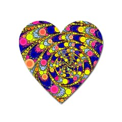 Wild Bubbles 1966 Magnet (heart) by ImpressiveMoments