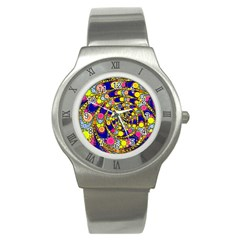Wild Bubbles 1966 Stainless Steel Watch (slim)