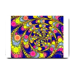 Wild Bubbles 1966 Small Door Mat by ImpressiveMoments