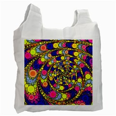 Wild Bubbles 1966 White Reusable Bag (one Side) by ImpressiveMoments