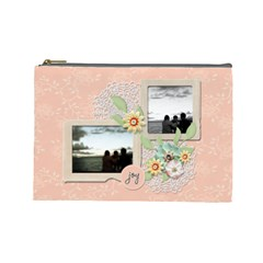 Cosmetic Bag (large)   Sweet Memories 2 By Jennyl   Cosmetic Bag (large)   5orq48w7496n   Www Artscow Com Front