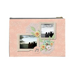 Cosmetic Bag (large)   Sweet Memories 2 By Jennyl   Cosmetic Bag (large)   5orq48w7496n   Www Artscow Com Back