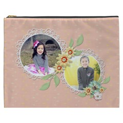 Cosmetic Bag (xxxl): Sweet Memories 4 By Jennyl   Cosmetic Bag (xxxl)   Bqf1c5ekd93w   Www Artscow Com Front