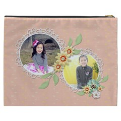 Cosmetic Bag (xxxl): Sweet Memories 4 By Jennyl   Cosmetic Bag (xxxl)   Bqf1c5ekd93w   Www Artscow Com Back