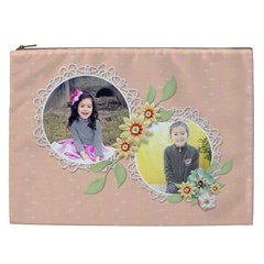 Cosmetic Bag (xxl)   Sweet Memories 4 By Jennyl   Cosmetic Bag (xxl)   2a0lmmodvjq6   Www Artscow Com Front