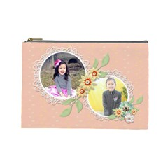 Cosmetic Bag (large)   Sweet Memories 4 By Jennyl   Cosmetic Bag (large)   744ljr5y96p5   Www Artscow Com Front