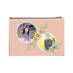 Cosmetic Bag (large)   Sweet Memories 4 By Jennyl   Cosmetic Bag (large)   744ljr5y96p5   Www Artscow Com Back