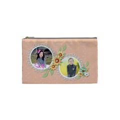 Cosmetic Bag (s)   Sweet Memories 4 By Jennyl   Cosmetic Bag (small)   Qclmtksrz9kr   Www Artscow Com Front
