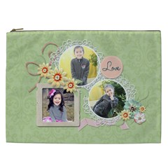 Cosmetic Bag (xxl)   Sweet Memories 5 By Jennyl   Cosmetic Bag (xxl)   Oenwkluwc5i4   Www Artscow Com Front