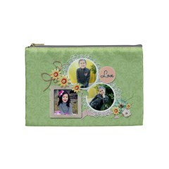 Cosmetic Bag (m)   Sweet Memories 5 By Jennyl   Cosmetic Bag (medium)   Q0nt6l30kxwe   Www Artscow Com Front