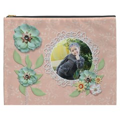 Cosmetic Bag (xxxl): Sweet Memories 6 By Jennyl   Cosmetic Bag (xxxl)   Zan8nsfpy3hy   Www Artscow Com Front