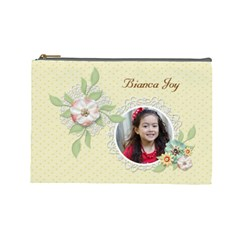 Cosmetic Bag (large)   Sweet Memories 7 By Jennyl   Cosmetic Bag (large)   6gguif9z041t   Www Artscow Com Front