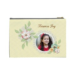 Cosmetic Bag (large)   Sweet Memories 7 By Jennyl   Cosmetic Bag (large)   6gguif9z041t   Www Artscow Com Back