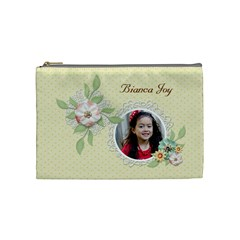 Cosmetic Bag (m)   Sweet Memories 7 By Jennyl   Cosmetic Bag (medium)   Txifn6099pgf   Www Artscow Com Front