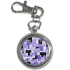 Purple Pain Modular Key Chain Watch by FunWithFibro
