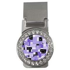 Purple Pain Modular Money Clip (CZ) by FunWithFibro