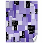 Purple Pain Modular Canvas 36  x 48  (Unframed) 48 x36 Canvas - 1