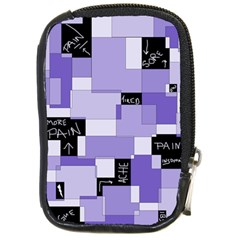 Purple Pain Modular Compact Camera Leather Case by FunWithFibro