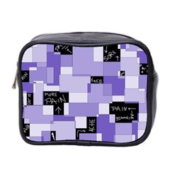 Purple Pain Modular Mini Travel Toiletry Bag (two Sides) by FunWithFibro